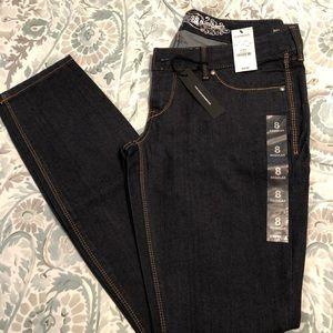 NWT Express dark wash skinny jeans